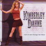 Dahme, Kimberly - Can´t a Girl change her Mind