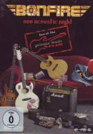 Bonfire - One Acoustic Night : Live at the Private Music Club   DVD